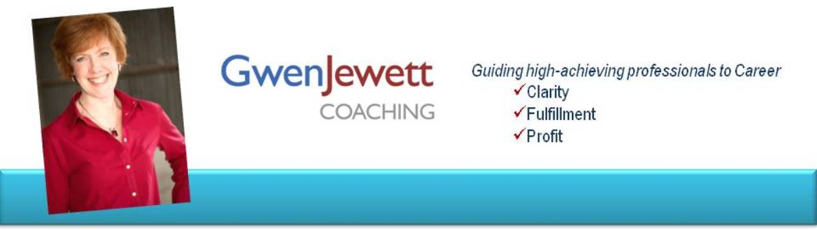 Career Coaching for the Successful Professional